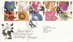 1997-01-06 Greetings Flower Stamps Bureau FDC (77411)
