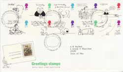 1996-02-26 Greetings Stamps Bureau FDC (77417)