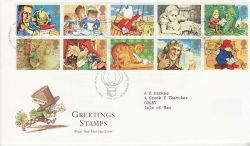 1994-02-01 Greetings Stamps Bureau FDC (77421)