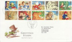 1994-02-01 Greetings Stamps Bureau FDC (77422)