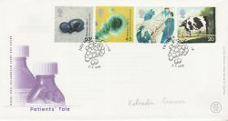 1999-03-02 Patients Tale Stamps Oldham FDC (77434)