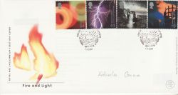 2000-02-01 Fire and Light Stamps Edinburgh FDC (77445)