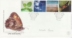 2000-04-04 Life and Earth Stamps Doncaster FDC (77447)