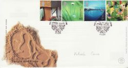 2000-06-06 People and Place Stamps Gateshead FDC (77449)