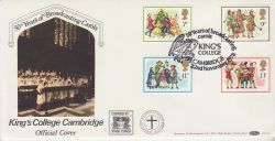 1978-11-22 Christmas Stamps Kings College Cambridge FDC (77482)