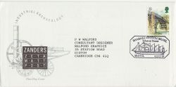 1989-07-04 Industrial Archaeology Zanders FDC (77489)
