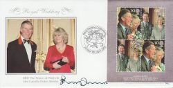 2005-04-08 Royal Wedding Penny Junor Signed FDC (77520)