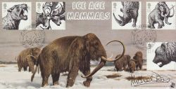 2006-03-21 Ice Age Animals Dr Michael Dixon Signed FDC (77521)