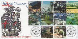 2006-02-07 England Stamps David Dimbleby Signed FDC (77522)