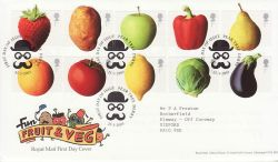 2003-03-25 Fruit and Veg Stamps Pear Tree FDC (77577)