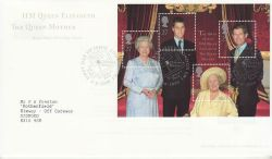 2000-08-04 Queen Mother M/S London SW1 FDC (77581)