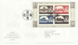 2005-03-22 Castle Definitive Stamps T/House FDC (77658)
