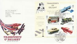 2003-09-18 Transports of Delight M/S T/House FDC (77666)