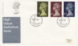 1977-02-02 Definitive High Values Windsor FDC (77695)