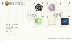 2001-10-02 Nobel Prizes Stamps T/House FDC (77824)