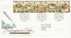 1995-08-08 Shakespeare Stamps Bureau FDC (77978)