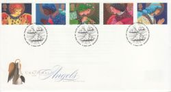 1998-11-02 Christmas Angels Stamps Bureau FDC (77983)