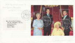 2000-08-04 Queen Mother M/S London SW1 FDC (77984)