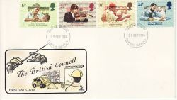 1984-09-25 British Council Stamps Ipswich FDC (78042)