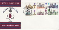 1969-05-28 British Cathedrals Royal Engineers FDC (78107)