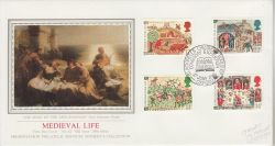 1986-06-17 Medieval Life Stamps Oxford FDC (78119)