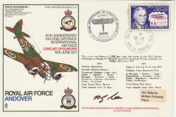 1971-06-18 SC24 RAF Andover Flown Signed (78131)