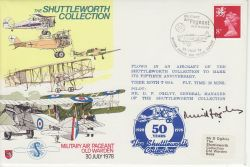 AD39 The Shuttleworth Collection Flown Signed (78134)
