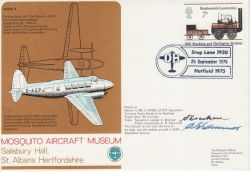 1975-09-25 Mosquito Aircraft Museum Signed (78158)