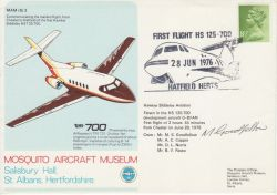 1976-06-28 Mosquito Aircraft Museum Signed (78159)