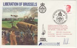 1984-09-03 Liberation of Brussels Anniv Signed (78160)