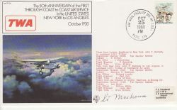 FF26 50th Anniversary Coast to Coast Air Service US (78165)