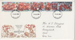 1988-07-19 Armada Stamps Dartford FDC (78170)