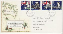 1988-06-21 Australian Bicentenary Stamps St Albans FDC (78172)