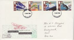 1988-05-10 Transport Stamps Dartford FDC (78176)