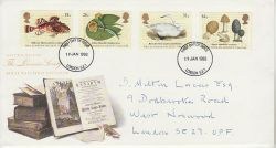 1988-01-19 The Linnean Society Stamps London FDC (78177)
