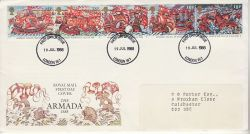 1988-07-19 Armada Stamps London FDC (78179)