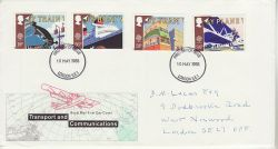 1988-05-10 Transport Stamps London FDC (78180)
