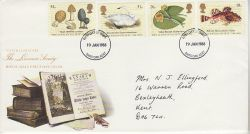 1988-01-19 The Linnean Society Stamps Dartford FDC (78181)