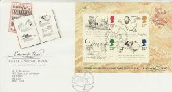 1988-09-27 Edward Lear M/S London N22 FDC (78182)