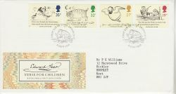 1988-09-06 Edward Lear Stamps London FDC (78187)