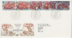 1988-07-19 The Armada Stamps Plymouth FDC (78205)