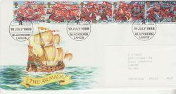1988-07-19 Armada Kellogs Blackburn FDC (78209)
