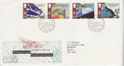 1988-05-10 Transport & Communications Bureau FDC (78219)
