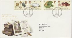 1988-01-19 Linnean Society Stamps London FDC (78222)