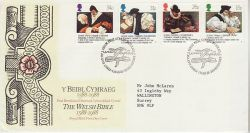 1988-03-01 The Welsh Bible Bureau FDC (78224)