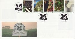1995-04-11 National Trust Alfriston FDC (78228)