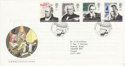 1995-09-05 Communications Stamps London EC FDC (78253)