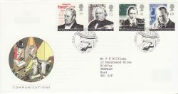 1995-09-05 Communications Stamps London EC FDC (78254)