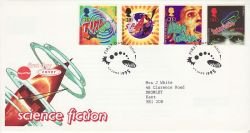 1995-06-06 Science Fiction Stamps Wells FDC (78256)