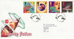 1995-06-06 Science Fiction Stamps Wells FDC (78257)